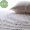 【脱脂綿入り敷きパッド】 和晒マスメキルトパッド