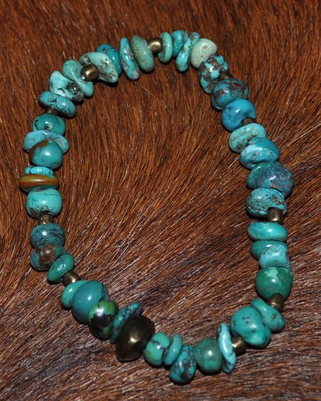 39 [SunKu] サンク Turquise Beads (tb) Bracelet