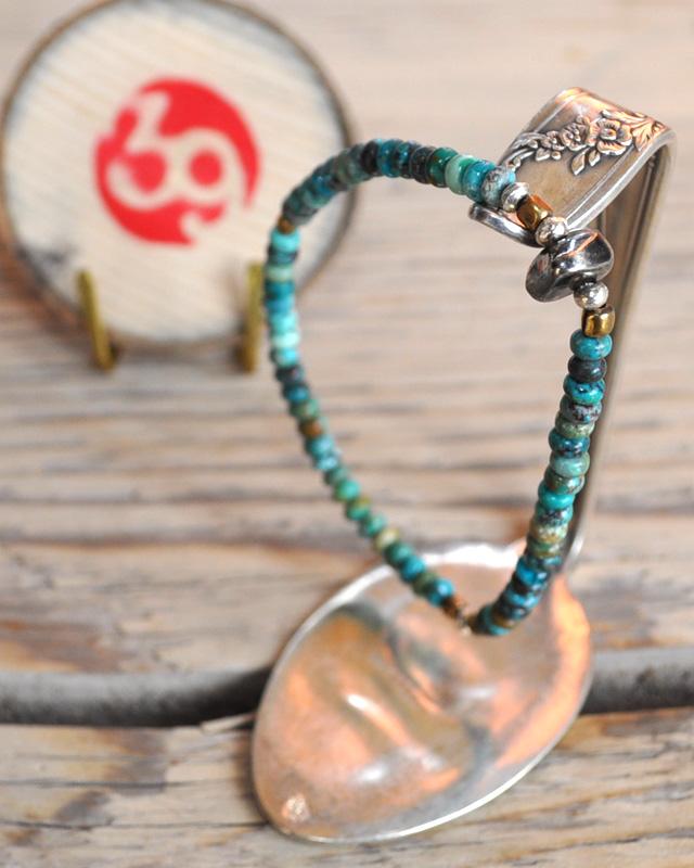 39 (SunKu/サンク) Turquise Beads (bt) Bracelet / ターコイズビーズブレスレット