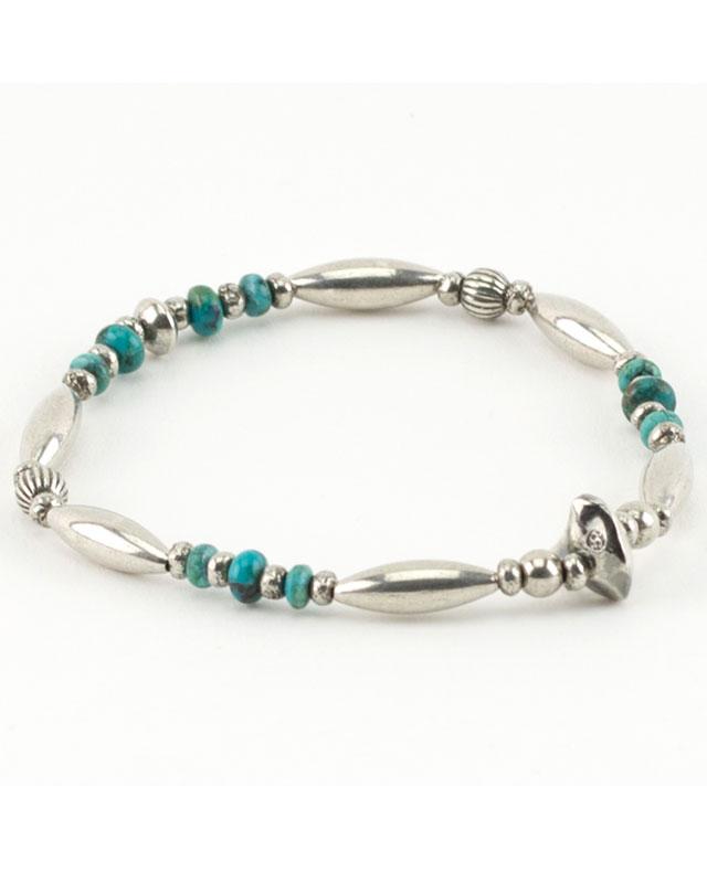 39 (SunKu/サンク)  Pipe Beads Bracelet 925/ パイプビーズブレスレット シルバー