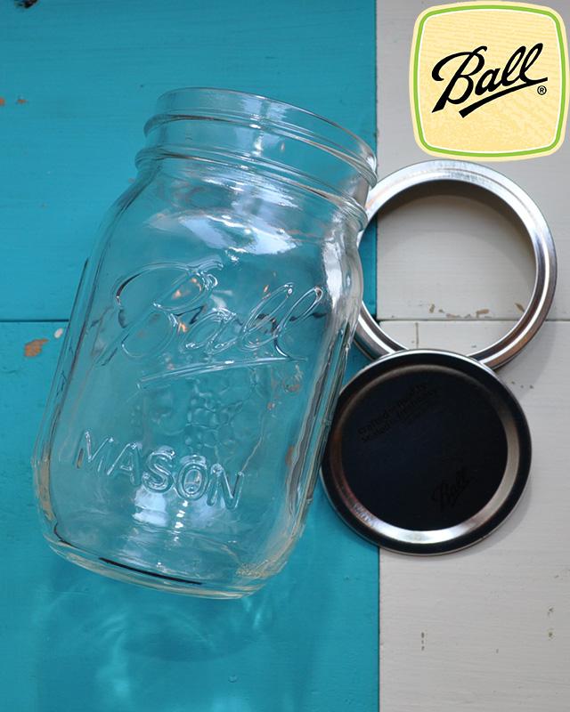 BALL MAISON JAR (ボール メイソンジャー) 16OZ REGULAR MOUTH JARS / 16oz レギュラーマウスジャー ■MADE IN USA