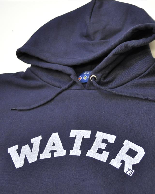 WATER water73 REVERSE WEAVE PULL PARKA
