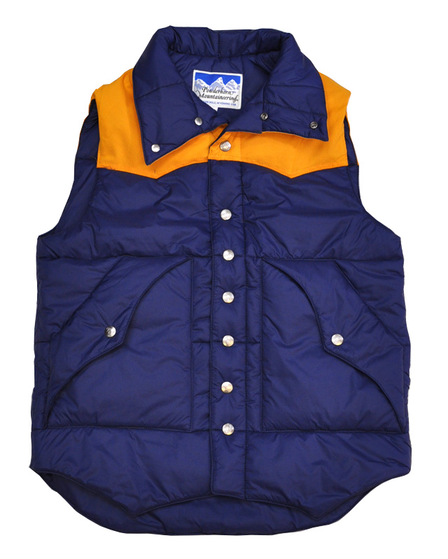 【50%OFF】Powderhorn Mountaineering(パウダーホーンマウンテアリング) YORKED VEST/ ヨークドベスト