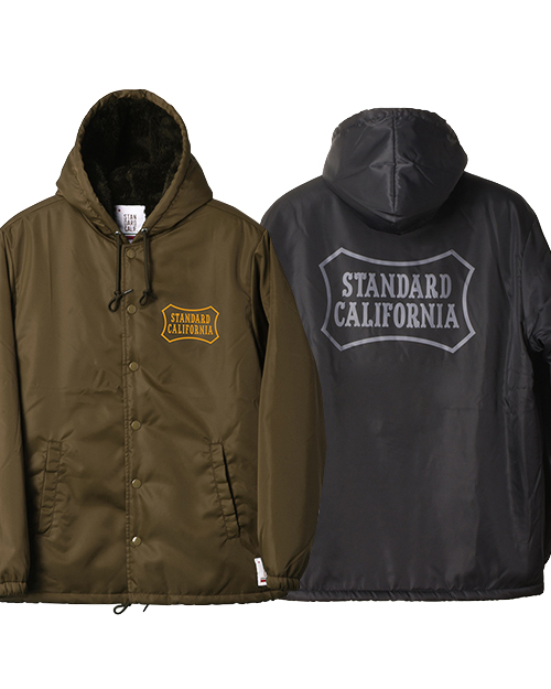 STANDARD CALIFORNIA (スタンダードカリフォルニア) SD Boa Hood Coach Jacket