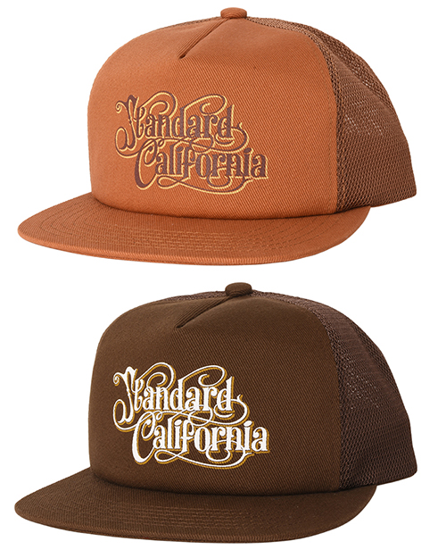 STANDARD CALIFORNIA (スタンダードカリフォルニア) SD Harvest Moon Twill Mesh Cap
