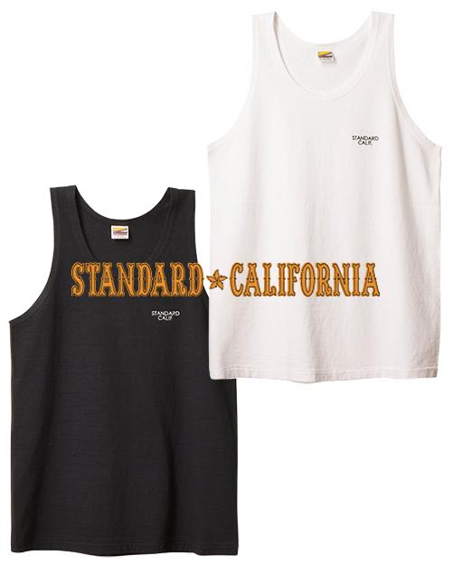 【DM便可】STANDARD CALIFORNIA (スタンダードカリフォルニア) SD SMALL LOGO TANK