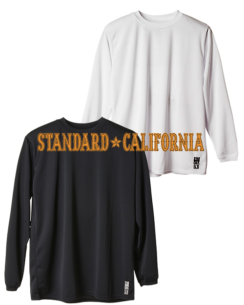 【40%OFF】STANDARD CALIFORNIA (スタンダードカリフォルニア) Tech Dry Daily First Layer Long Sleeve T / DLS L