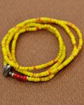 WATER x 39 (SunKu/サンク) Kangaba Beads Necklace & Bracelet / カカンバビーズ ネックレス&ブレスレット