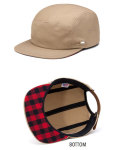 【MADE IN CALIFORNIA】ALMOND SURFBOARDS (アーモンドサーフボード) ALMOND x WOOLRICH Surfing Sheep Pins Hat/アーモンド x ウールリッチ