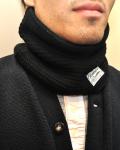 【1枚までメール便可】columbia knit (コロンビアニット) COTTON100% NECK WARMER / コットン ネックウォーマー MADE IN USA