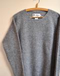 Harley of Scotland (ハーレーオブスコットランド)ROUND NECK SWEATER / ラウンドネックセーター
