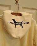 LABRADOR RETRIEVER(ラブラドールレトリバー) フードドッグロゴパーカー