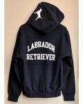 LABRADOR RETRIEVER(ラブラドールレトリバー) ジップフードドッグロゴパーカー