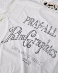 PALM GRAPHICS (パームグラフィックス) S/S TEE [PRAY FOR ALL]