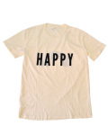 "Quality Peoples (クオリティーピープル) ""HAPPY"" Crew T"