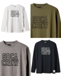 【DM便可】STANDARD CALIFORNIA (スタンダードカリフォルニア) SD Tech Dry Logo Long Sleeve T