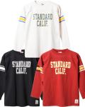 STANDARD CALIFORNIA (スタンダードカリフォルニア) SD Heavyweight Football Long Sleeve