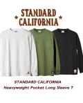 STANDARD CALIFORNIA (スタンダードカリフォルニア)Heavyweight Pocket Long Sleeve T