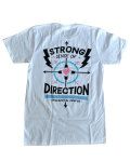 【MADE IN USA】SEE SEE MOTOR COFFEE CO. (シーシーモーターコーヒー) STRONG SENCE OF DIRECTION TEE