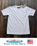THOUSANDMILE (サウザンドマイル) 12oz. Pocket T-Shirts