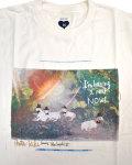 ULTRA HEAVY (ウルトラヘビー) x KIKI + Koji Toyoda TEE / 羊とハットT