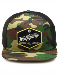 WOLFGANG MAN & BEAST (ウルフギャング) Diamond Camo Snapback Trucker Hat