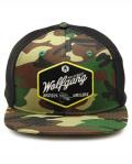 WOLFGANG MAN & BEAST (ウルフギャング) Diamond Camo Snapback Trucker Hat