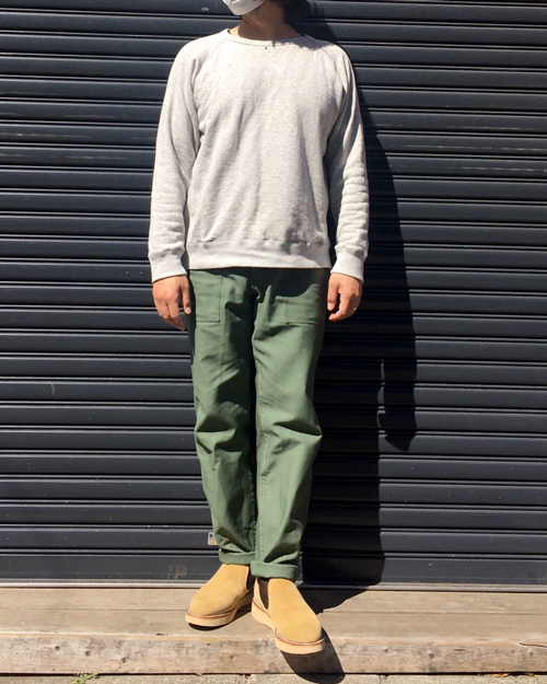 STANRAY(スタンレー) Taper Fit 4Pocket Fatigue Pants - Length 30