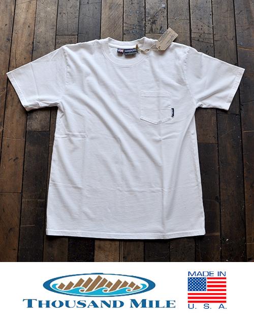 THOUSANDMILE (サウザンドマイル) 12oz. Pocket T-Shirts