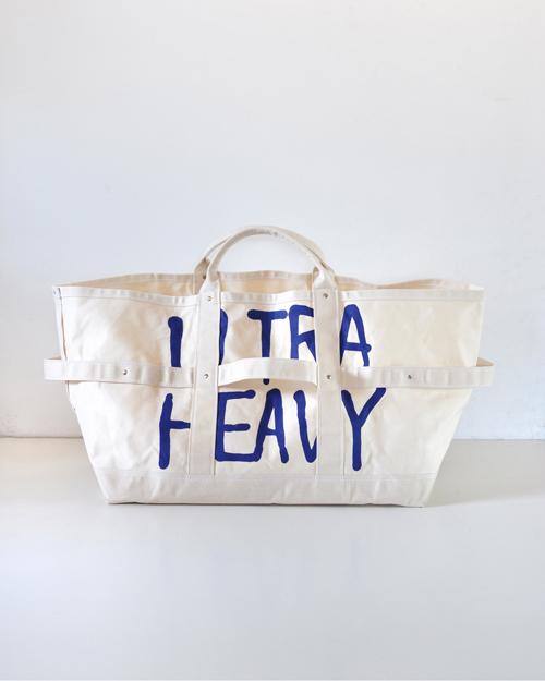 ULTRA HEAVY (ウルトラヘビー) x TEMBEA TOTE BAG / トートバッグ