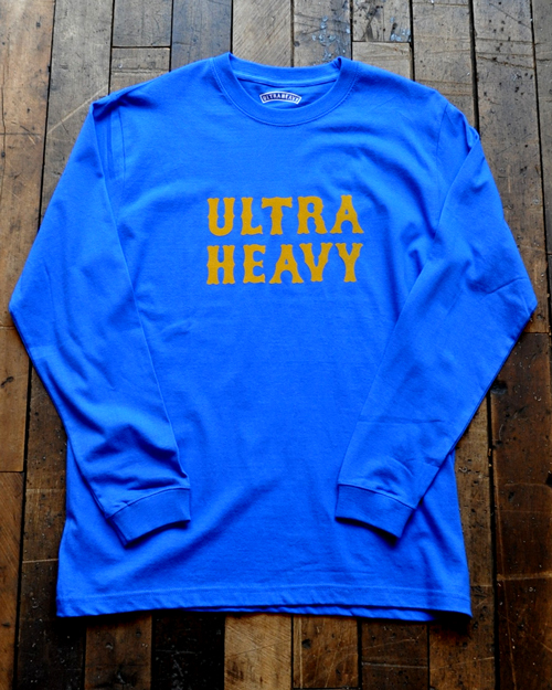 ULTRA HEAVY (ウルトラヘビー)  ULTRA HEAVY Classic Logo Long Sleeve Tee