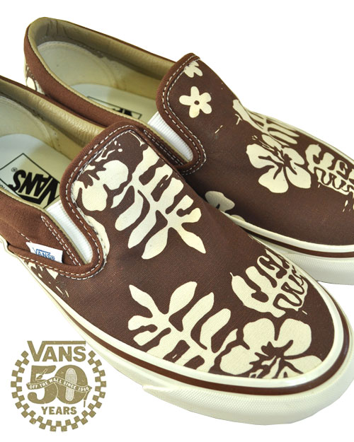 【50%OFF】【Van Doren Approved Collection】VANS (バンズ) USA企画 CLASSIC SLIP-ON /スリップオン