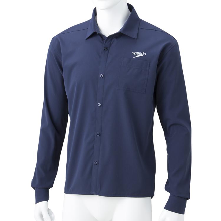 <SPEEDO>ロングスリーブスタンダードシャツ SA51907