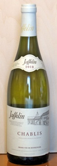 ジャフラン・シャブリ2010ボトル