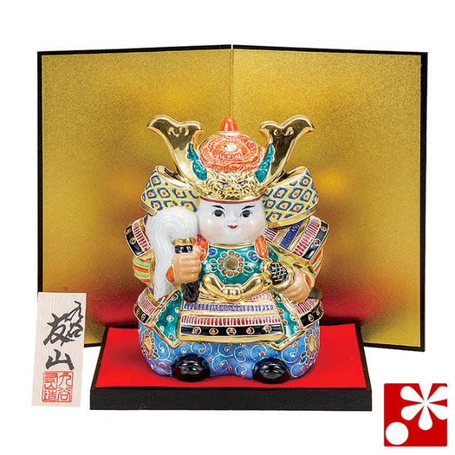 九谷焼 武者人形 盛(五月人形 端午の節句)(WAZAHONPO-51681)