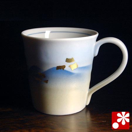 九谷焼 マグカップ 連山【アウトレット】