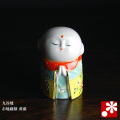 九谷焼 お地蔵様 黄盛(高さ5.5cm)(WAZAHONPO-51604)