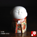 九谷焼 お地蔵様 金花詰(高さ10cm)(WAZAHONPO-31866)