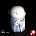九谷焼 お地蔵様 山茶花(高さ9cm)(WAZAHONPO-51605)