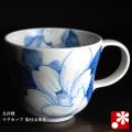 マグカップ 染付山茶花(WAZAHONPO-40872)