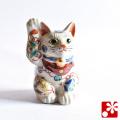 九谷焼 招き猫(右手) 宝尽くし(WAZAHONPO-51559)