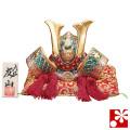九谷焼 兜 金彩錦盛(五月人形 端午の節句)(WAZAHONPO-51685)