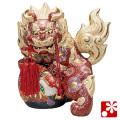 九谷焼 9号宝獅子(高さ27cm) 盛(WAZAHONPO-51706)