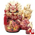九谷焼 10号剣獅子(高さ31cm) 盛(WAZAHONPO-61640)