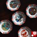 九谷焼 豆皿セット 時代絵(WAZAHONPO-50032)