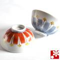 九谷焼 夫婦茶碗 線文(WAZAHONPO-50476)