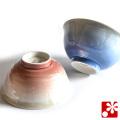 夫婦茶碗 銀彩(WAZAHONPO-50486)