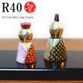 九谷塾 R40 type Crown 白盛小紋(R40-008)