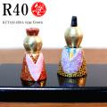 九谷塾 R40 type Crown 金彩花唐草文(R40-009)