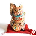6号招き猫 盛(WAZAHONPO-GQ3)